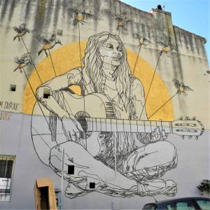 mahn Kloix - street art avenue - marseille