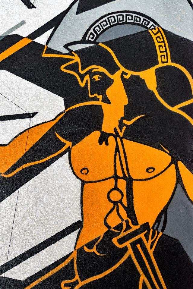 aure - drum - street art avenue - dedale - vannes