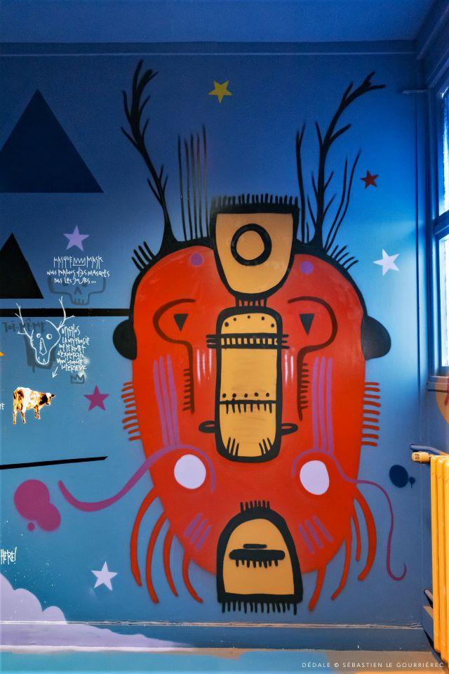 - tarek - street art avenue - dedale - vannes
