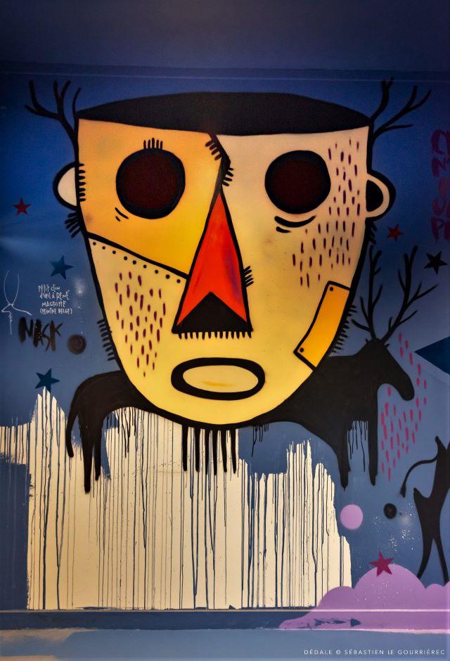 tarek - street art avenue - dedale - vannes