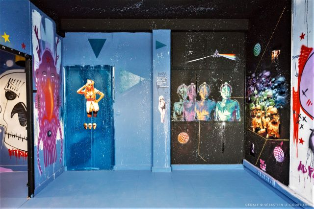 tarek - mat elbe - street art avenue - dedale - vannes