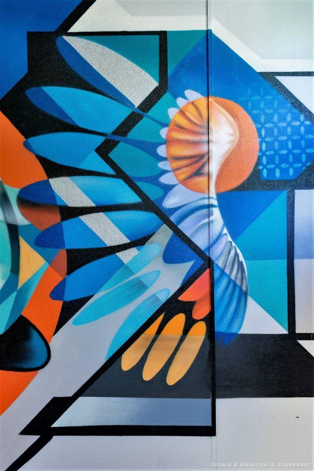 kat - action - street art avenue - dedale - vannes