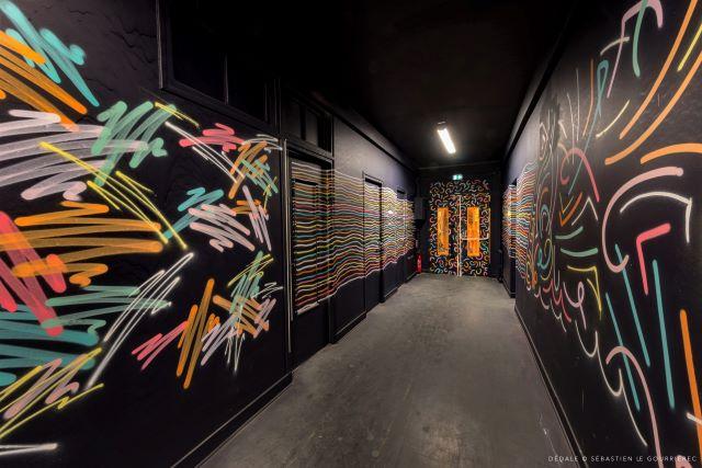 tomas lacque - street art avenue - dedale - vannes