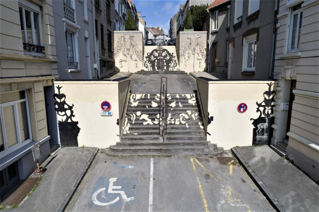 borondo - street art avenue - boulogne sur mer