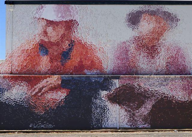fintan magee - street art avenue - collie - australie