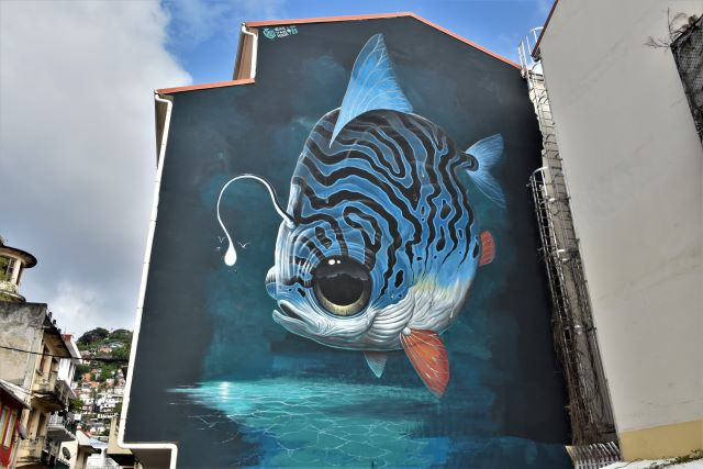 veks van hillik - street art avenue - fort de france - martinique