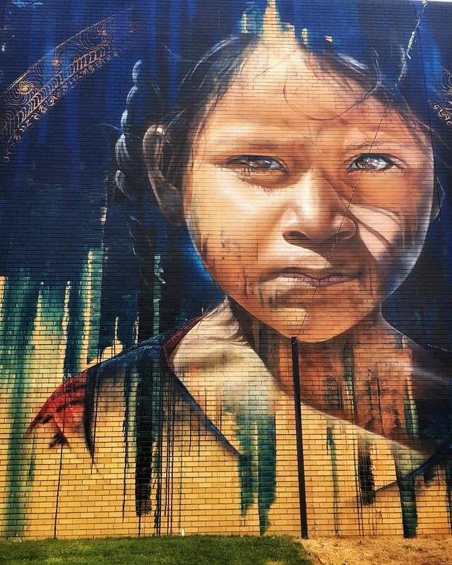 adnate - street art - benalla - australie