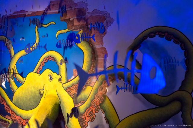 fabrice lavergne - street art avenue - dedale - vannes