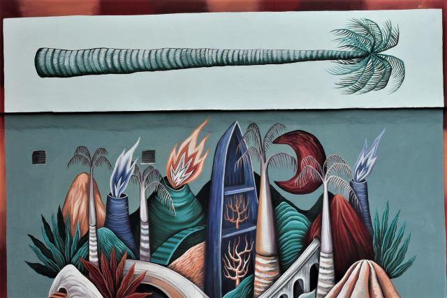 loraine motti - street art avenue - fort de france - martinique