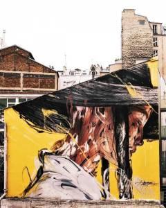 hopare - street art avenue - paris 18 - france