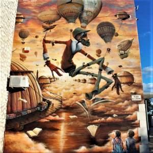 maye - sock - street art avenue - st bauzely - france