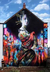 dan kitchener -streetart avenue -hull -UK