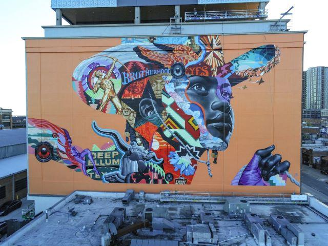 tristan eaton - street art avenue - dallas -usa