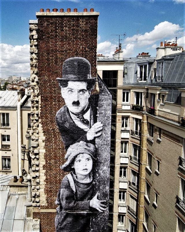 jr artist - street art avenue - paris