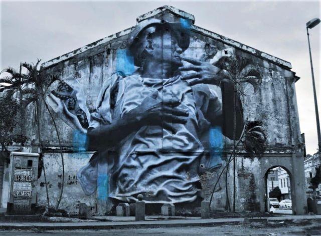 jdl - street art avenue - kuala lumpur - malaisie
