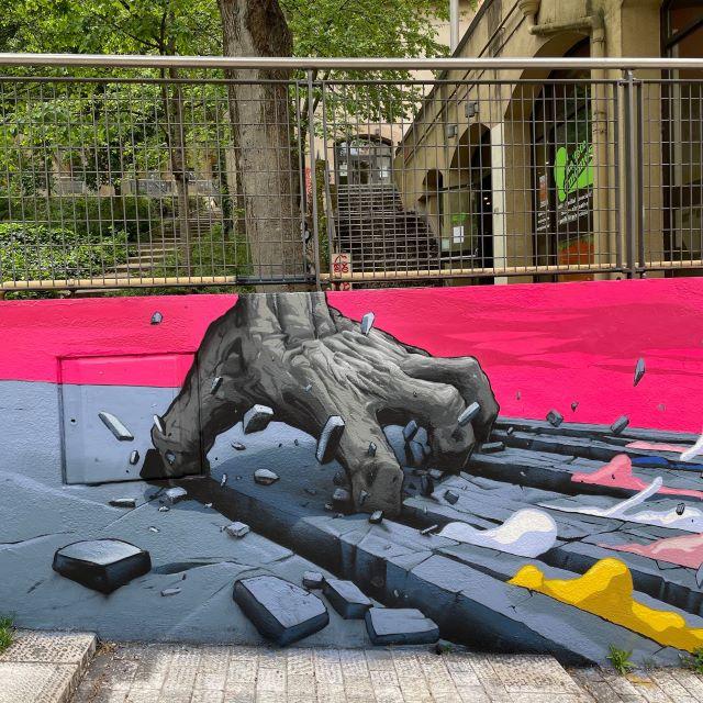 brusk -street art avenue - lyon - france