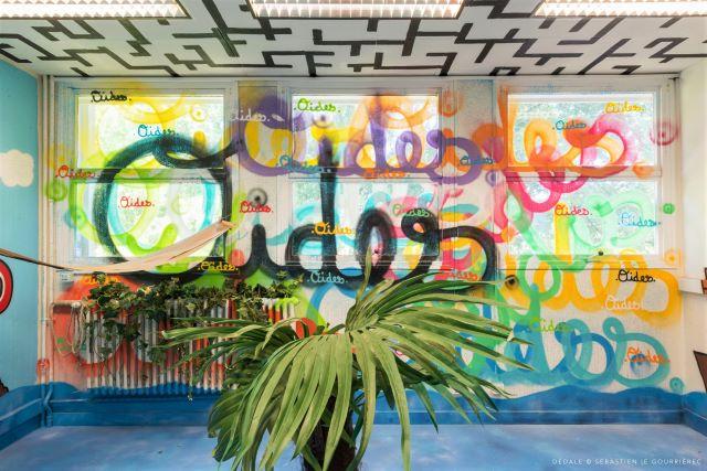 oides - street art avenue - dedale - vannes
