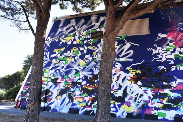 lek - sowat - street art acenue - lna -port-de-bouc - france